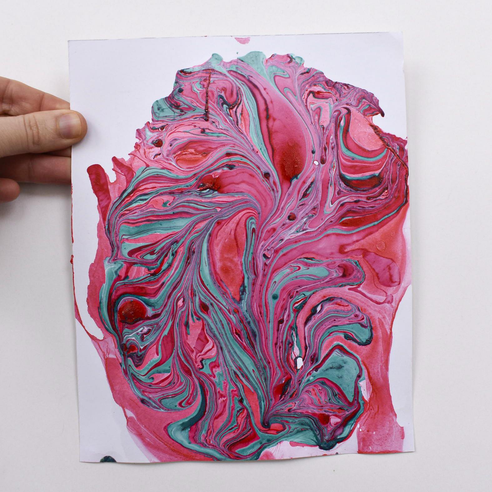 papel de augas Marmolado