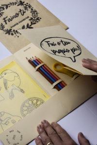 Fai o teu propio pin. kit creativo, técnicas artesanais e artes plásticas