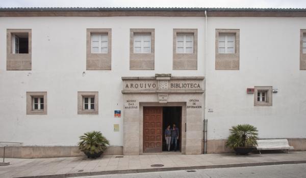 museos das mariñas mosteiro de santo domingo biblioteca