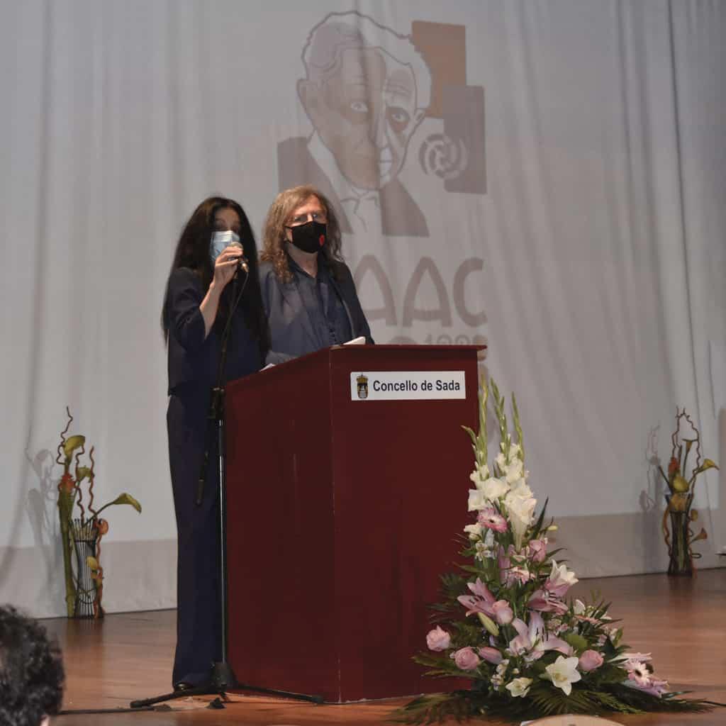 Carmen Blanco e Claudio Rodríguez Fer